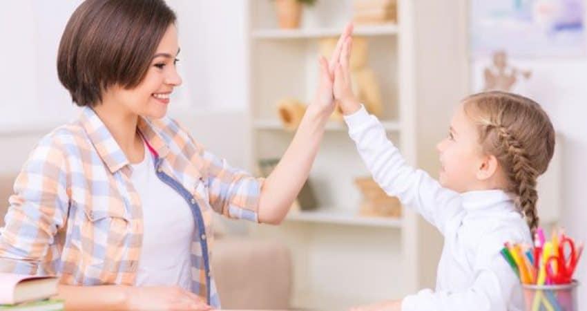 El refuerzo positivo en niños con TDAH
